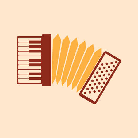 A keyboard accordion illustration.