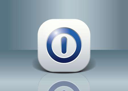 power button Stockfoto - 106671494