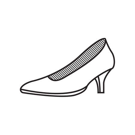 A high heels illustration. Stock Vector - 81485895