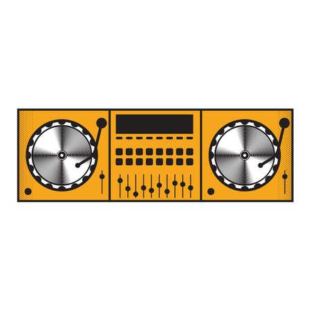 dj mixer 向量圖像