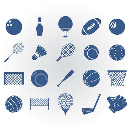 スポーツ用品のコレクション