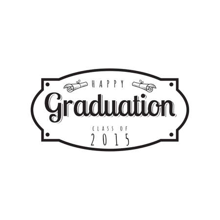 graduation label Çizim