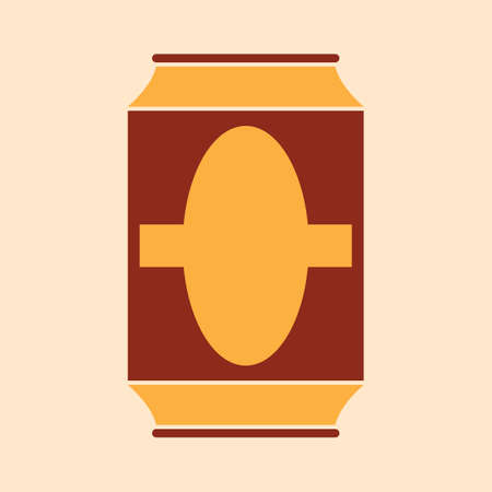 A beer can illustration. Çizim