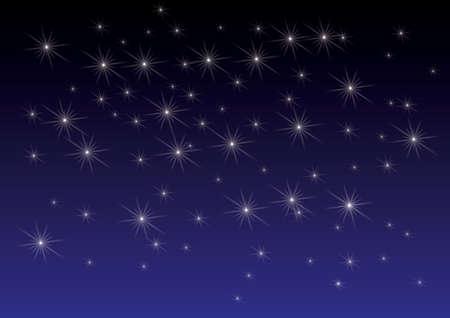 fonkelende sterren achtergrond Stock Illustratie