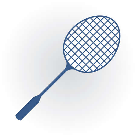 Raquette de badminton Banque d'images - 81537433