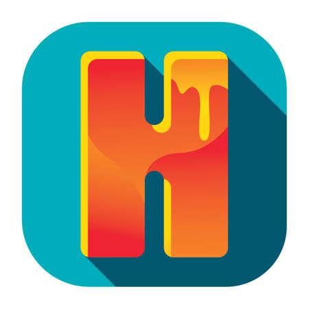alfabeto h
