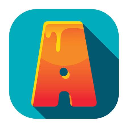 alphabet a Stock Illustratie