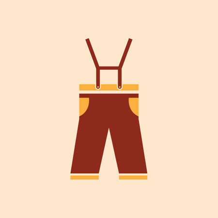 A lederhosen illustration.