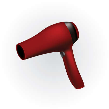 hair dryer Иллюстрация
