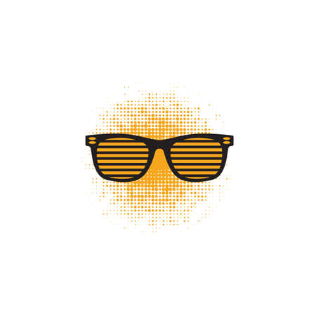 shutter shades Illustration