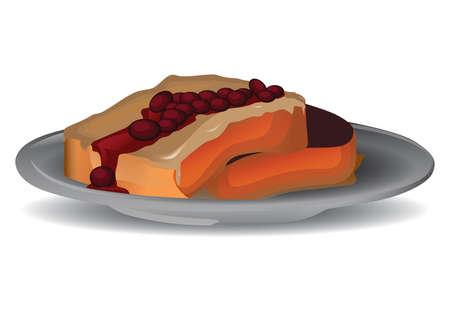beef steak Иллюстрация