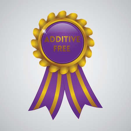additive free ribbon badge