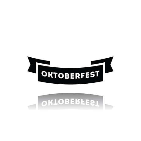 oktoberfest label Illustration