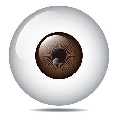 olho Ilustración de vector