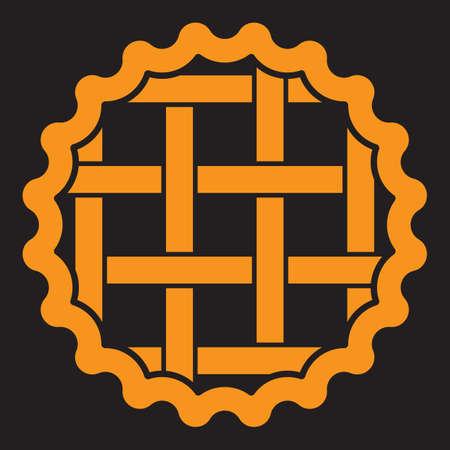 A pie illustration.