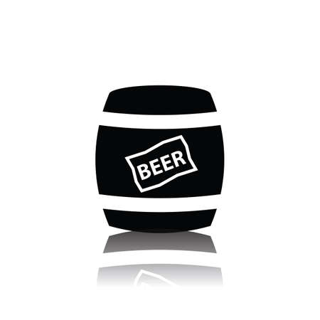 beer barrel Banco de Imagens - 81538392