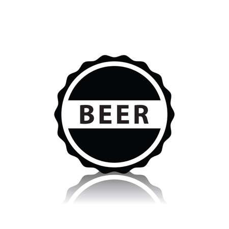 맥주병 모자