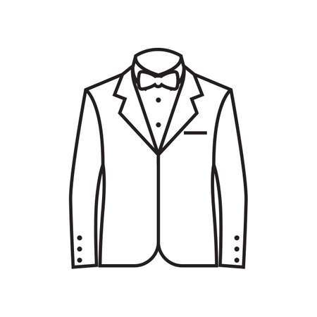 A formal suit illustration. Фото со стока - 81485969