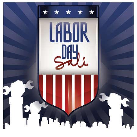 Labor day poster Stok Fotoğraf - 81537452