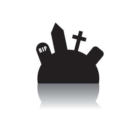 graveyard Ilustracja