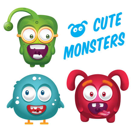 cute monsters collection
