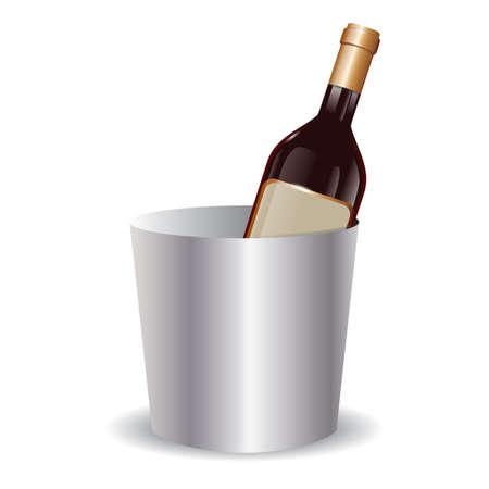 상자에 와인 병