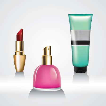 Ensemble de cosmétiques Banque d'images - 81486308