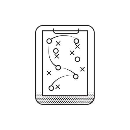 Spielplan Vektorgrafik