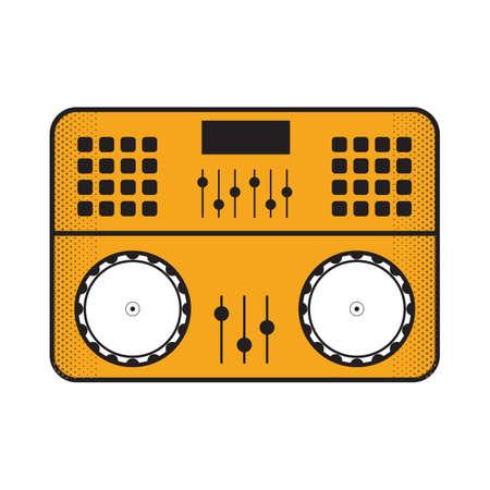 dj mixer Illustration