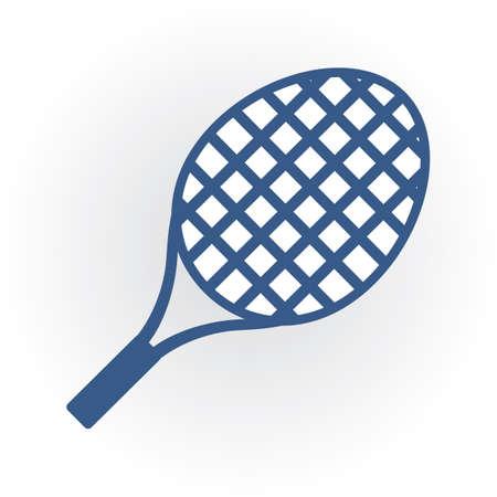 Raquette de tennis Banque d'images - 81537474