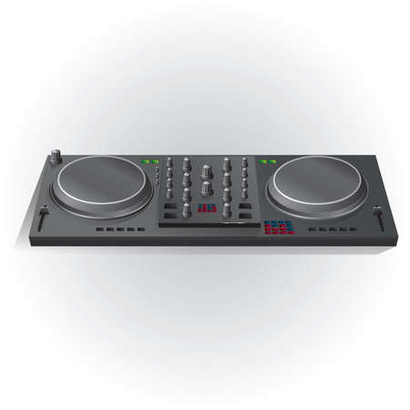 DJ 믹서 턴테이블