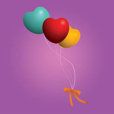 balloons  イラスト・ベクター素材