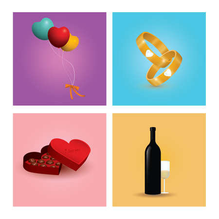 love collection Stock Vector - 106671771