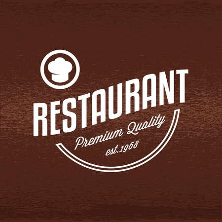 레스토랑 라벨