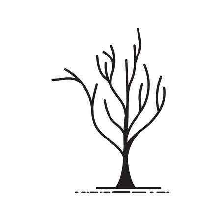 A bare tree illustration.