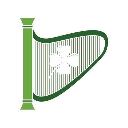irish celtic harp