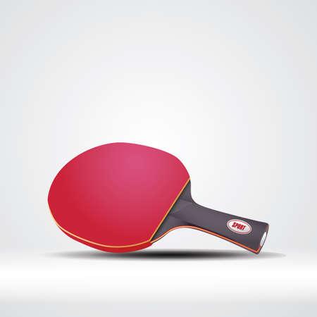 Raquette de tennis de table Banque d'images - 81487125