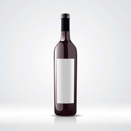 wine bottle Illustration