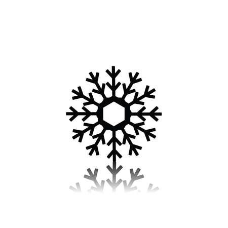 snowflakes Illusztráció