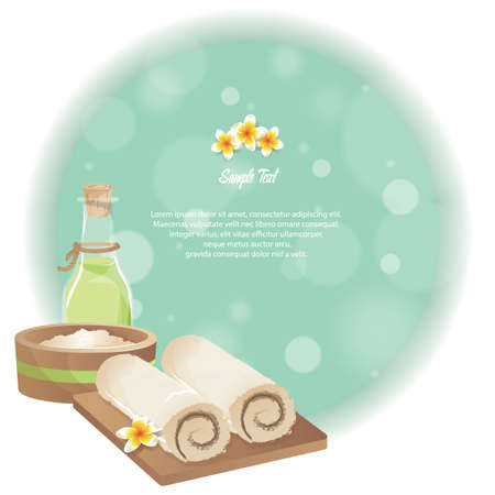 plantilla temática de spa