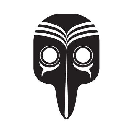 carnaval masker Stock Illustratie
