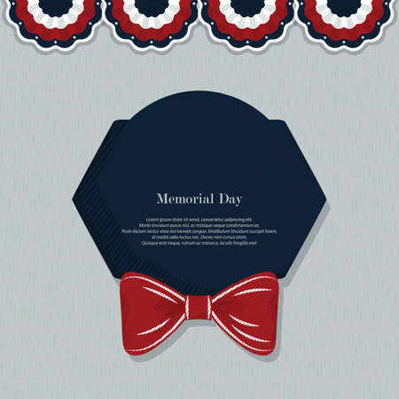tribute: memorial day background with text