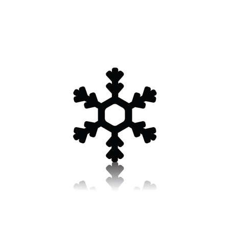 雪の結晶  イラスト・ベクター素材