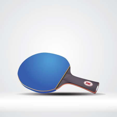 Raquette de tennis de table Banque d'images - 81487129