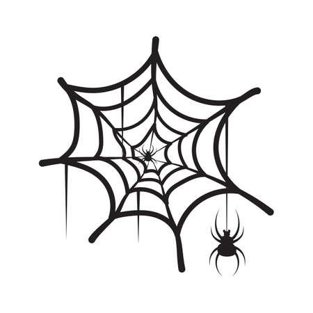 spinnenweb Stock Illustratie