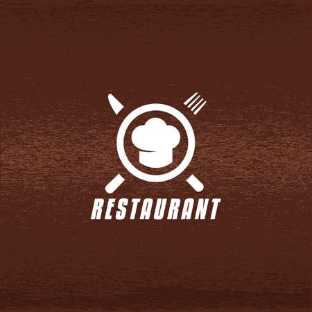 레스토랑 레이블 그림입니다.