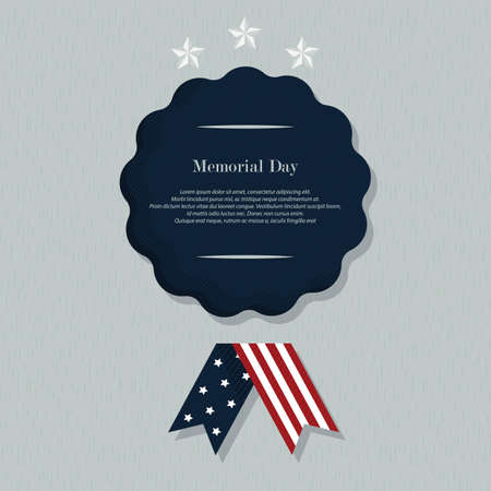 memorial day background with text