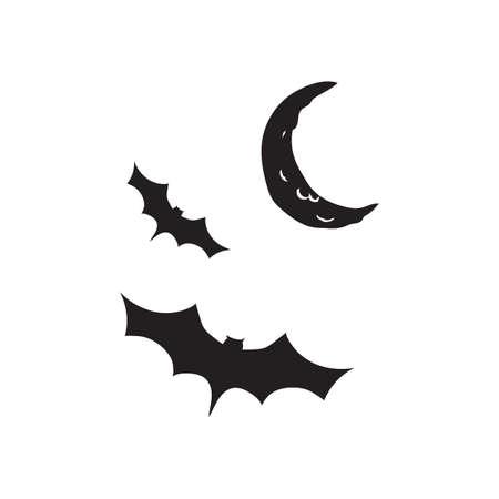 밤에 날고있는 박쥐