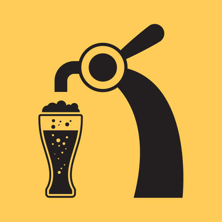 beer with tap