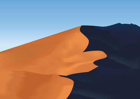 Wüste Vektorgrafik